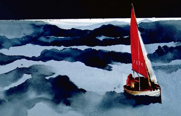 Artwork from hallucination sequence - Tinkerbelle Sails the Atlantic - Patrick Hinz